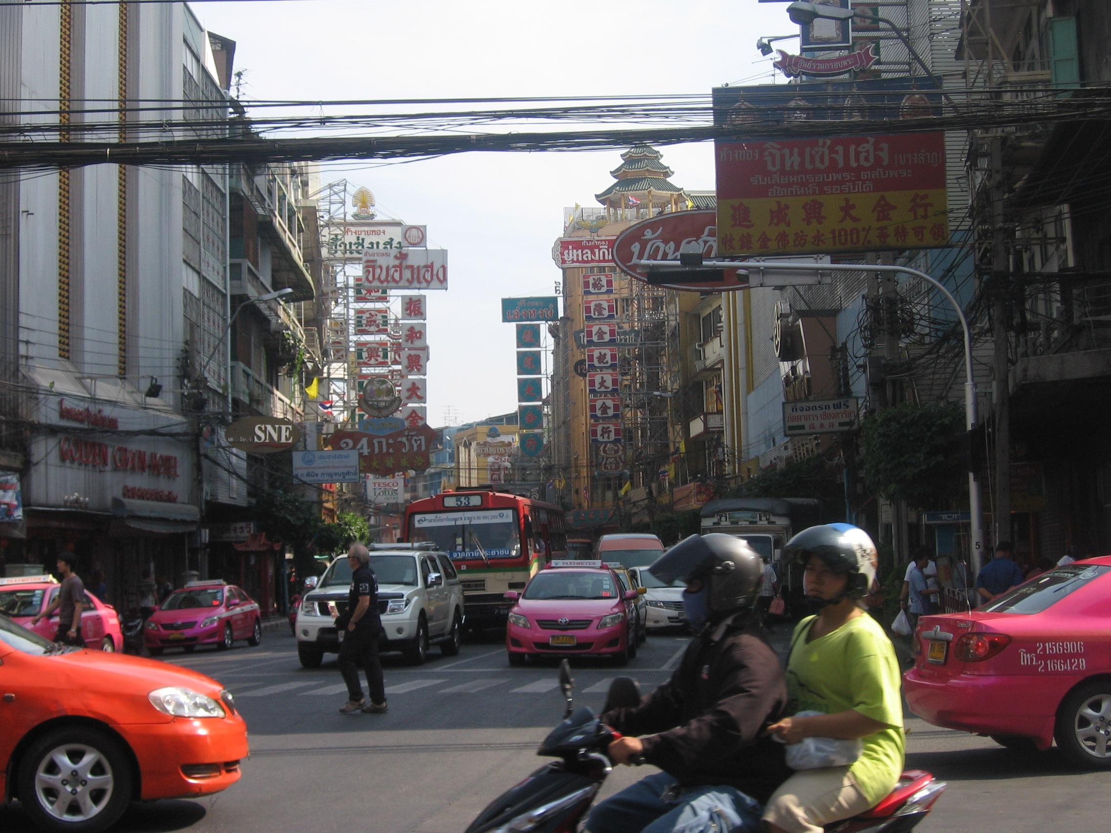 Rue des bangkok