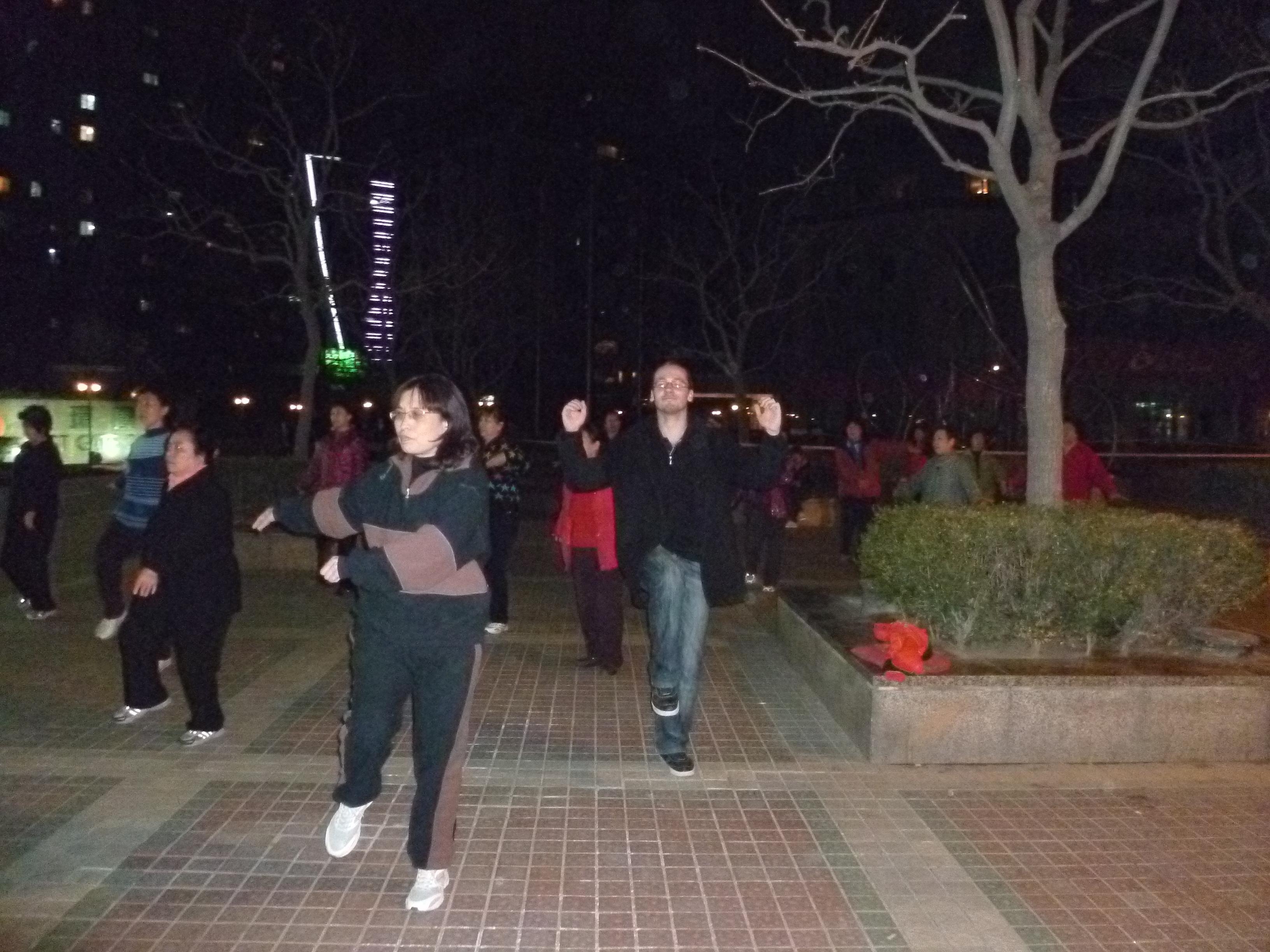 Danse de rue a Pekin