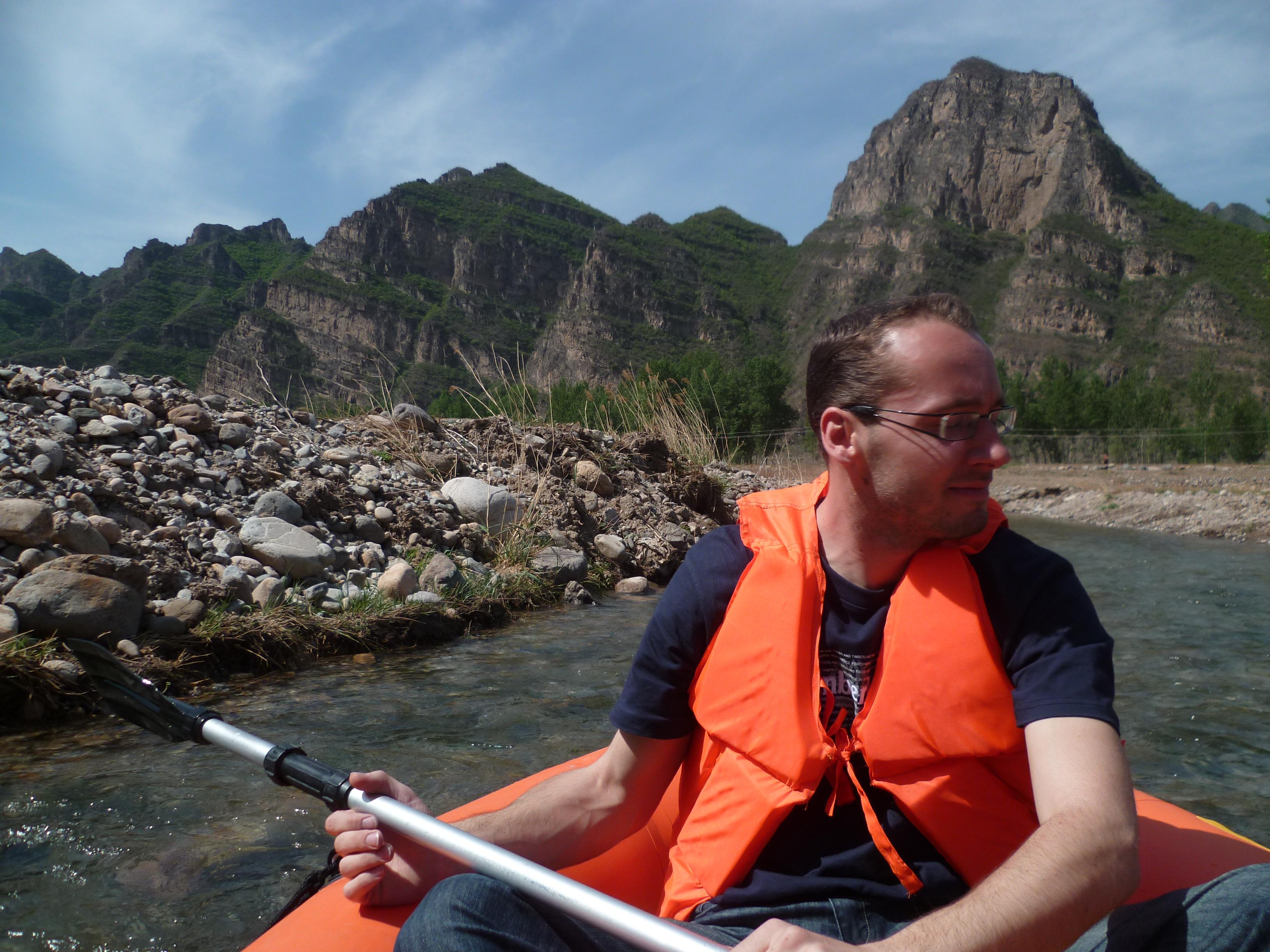 Canoe dans pekin