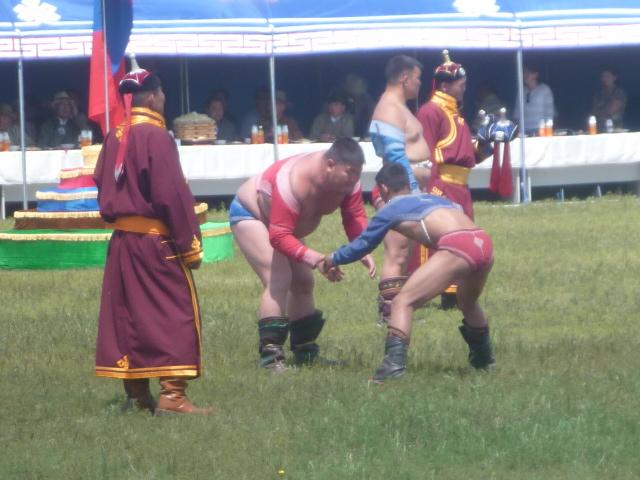 Lutte mongole