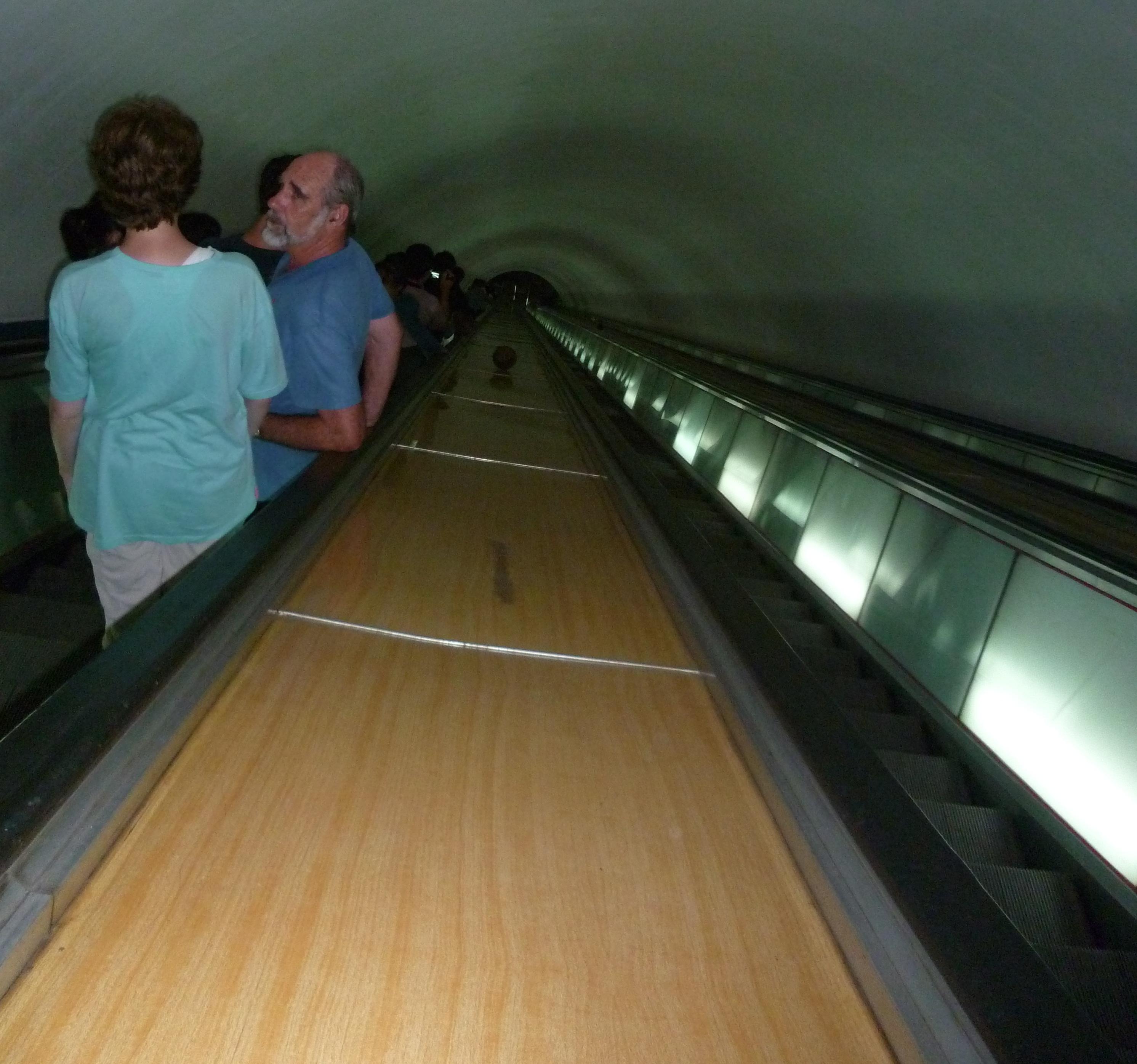 Metro le plus profond du monde