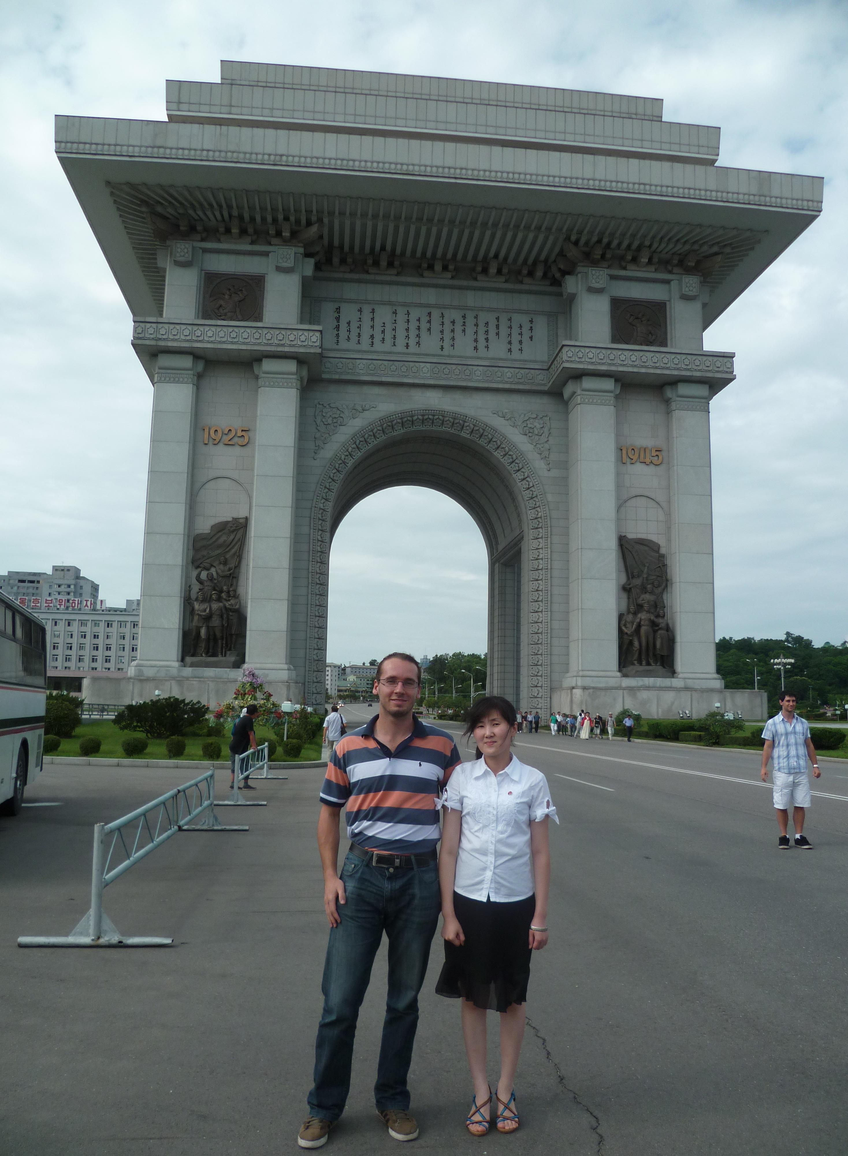 Arc de triomphe - coree du nord