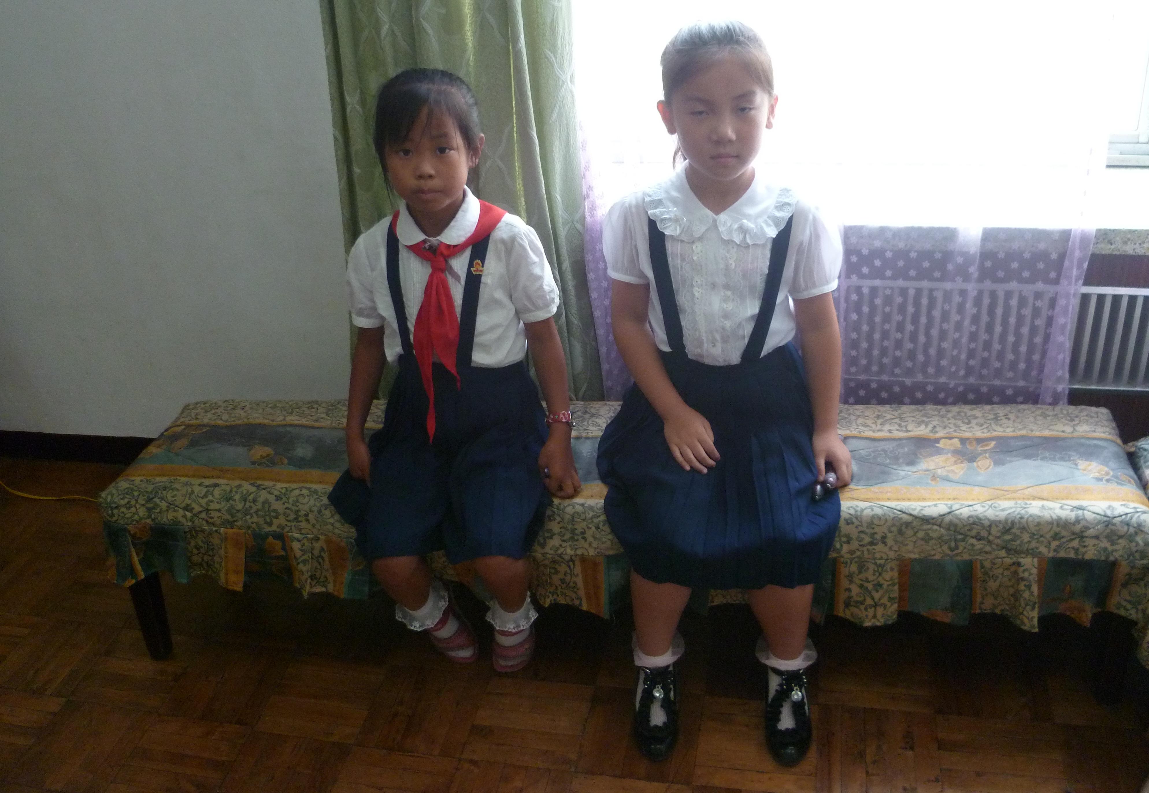 Enfants coree du nord
